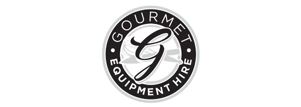 gourmet equipment hire logo